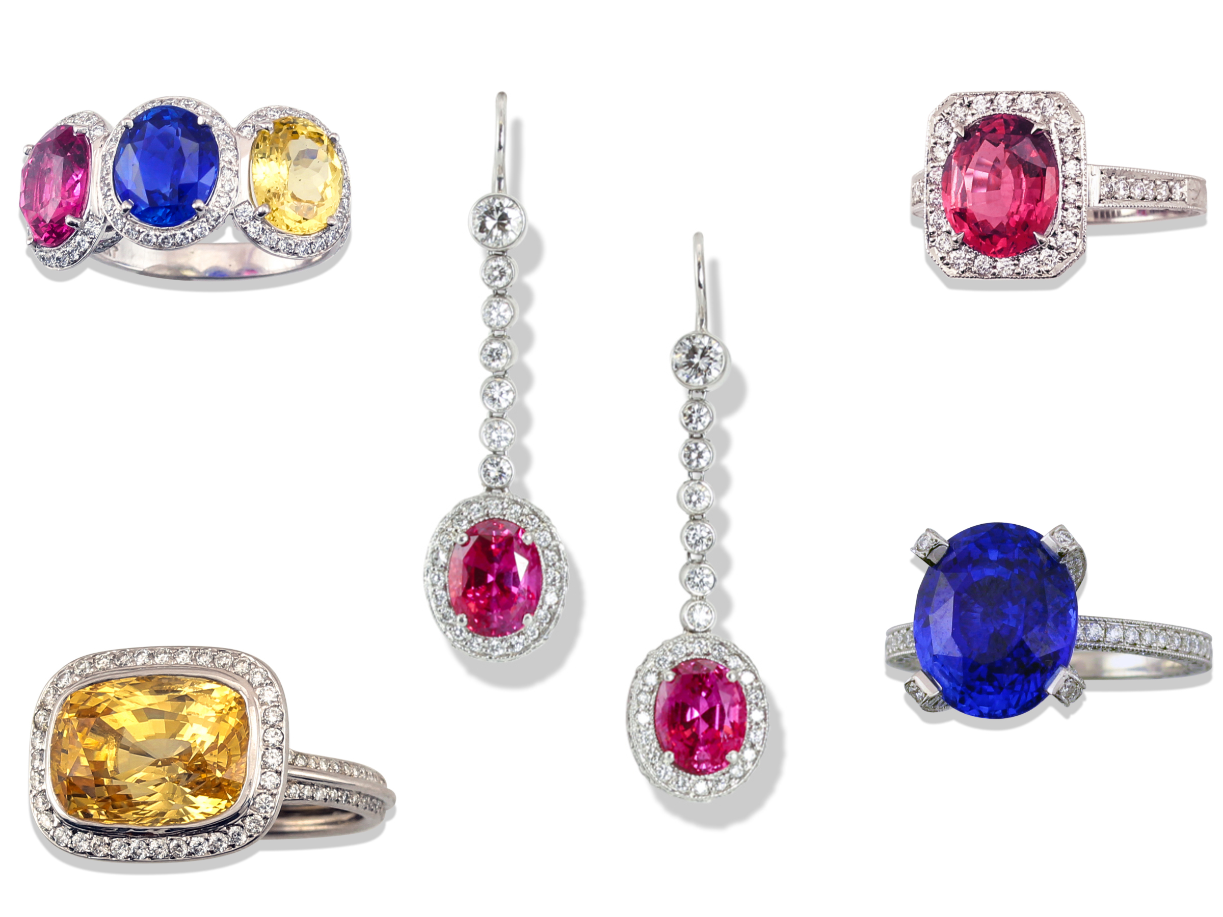 Fine sapphire jewelry fine jewelry and gems by leon for What is fine jewelry